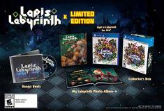 Ps4 Lapis X Labyrinth Limited Edition