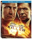 Hunter Killer Butler Oldman Common Blu Ray DVD Dc R