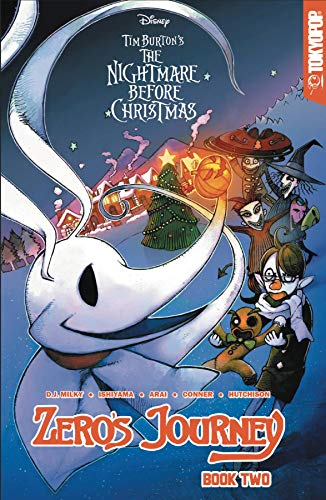 D.J. Milky Disney Manga Nightmare Before Christmas Zero's Journey Book 2