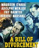 Bill Of Divorcement (1940) O'hara Menjou Blu Ray Nr