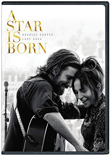 A Star Is Born (2018) Lady Gaga Cooper DVD R