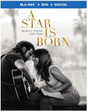 A Star Is Born (2018) Lady Gaga Cooper Blu Ray DVD Dc R