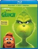 The Grinch (2018) The Grinch (2018) Blu Ray DVD Dc Pg