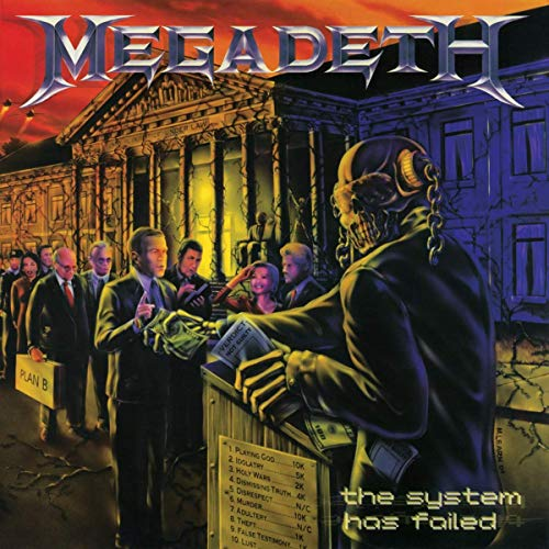 Megadeth The System Has Failed 2019 Remaster