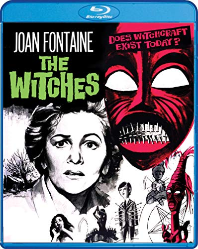 The Witches (1966) Fontaine Mccowen Blu Ray Nr