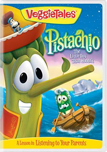 Veggietales/Pistachio: The Little Boy That Woodn't@DVD