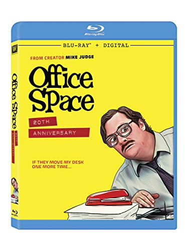 Office Space Livingston Aniston Blu Ray R