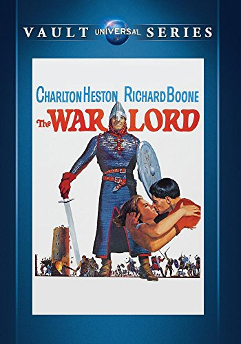 The War Lord Heston Boone Forsyth Stockwell DVD Mod This Item Is Made On Demand Could Take 2 3 Weeks For Delivery