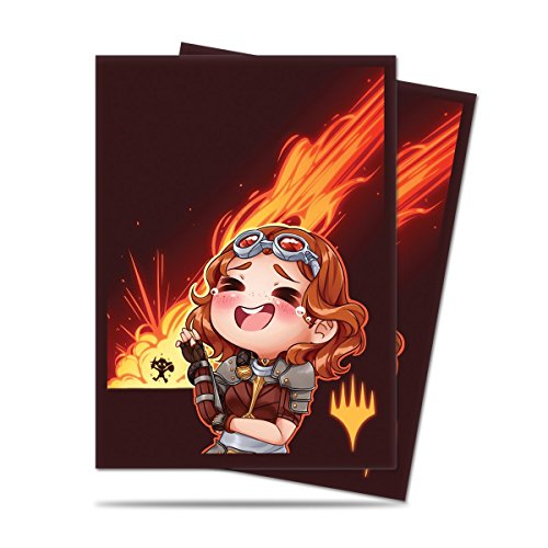 card-sleeves-100ct-standard-mtg-chibi-chandra-planeswalker