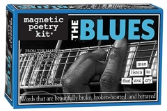 Magnetic Poetry The Blues Word Magnet Kit