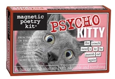 Magnetic Poetry Psycho Kitty Magnetic Word Kit