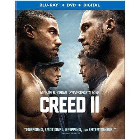 Creed 2 Jordan Stallone Blu Ray DVD Dc Pg13