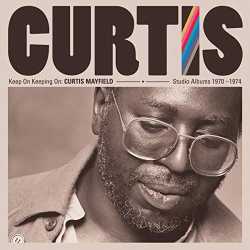 Curtis Mayfield/Keep On Keepin' On: Curtis Mayfield Studio Albums@4lp 180g Vinyl
