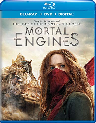 Mortal Engines Hilmar Sheehan Weaving Blu Ray DVD Dc Pg13
