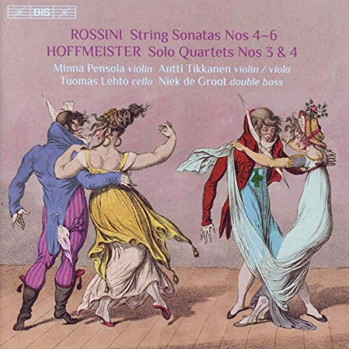 Hoffmeister / Pensola / Groot/Quartets With Double Bass 2