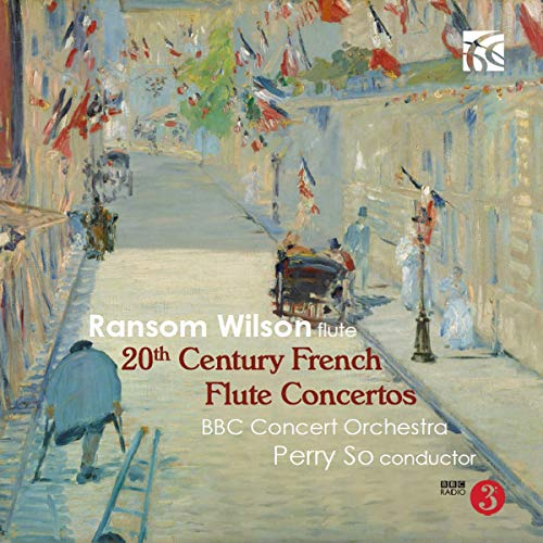 Damase / Wilson / Bbc Concert/20th Century French Flute Conc