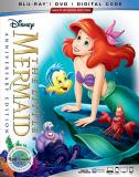 The Little Mermaid Disney Blu Ray DVD Dc G Signature Edition