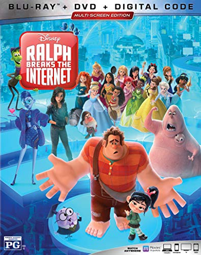 Wreck It Ralph Ralph Breaks The Internet Wreck It Ralph Ralph Breaks The Internet Blu Ray DVD Dc Pg
