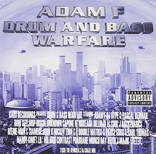Adam F Presents Drum & Bass Explicit Version