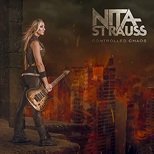 Nita Strauss/Controlled Chaos (Transparent Red vinyl)@Transparent Red vinyl