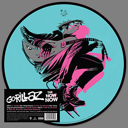 Gorillaz The Now Now Picture Disc