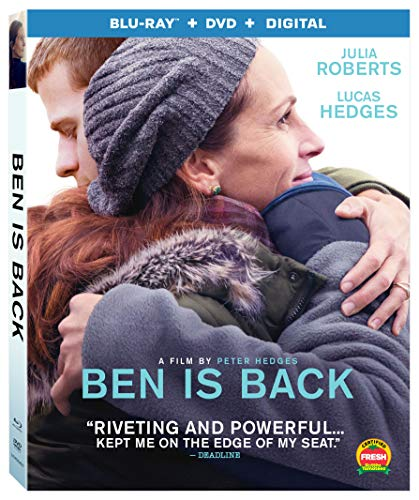 Ben Is Back Roberts Hedges Blu Ray DVD Dc R