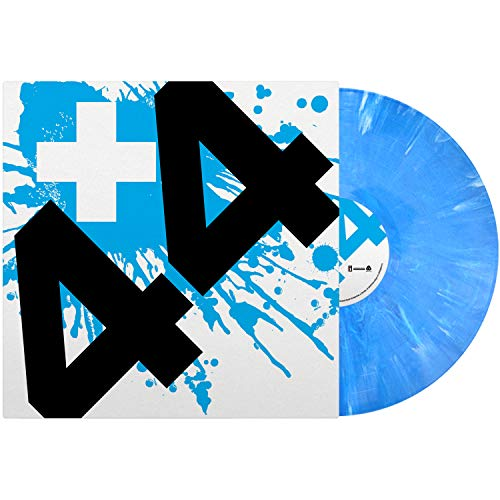 +44 When Your Heart Stops Beating (blue Vinyl)
