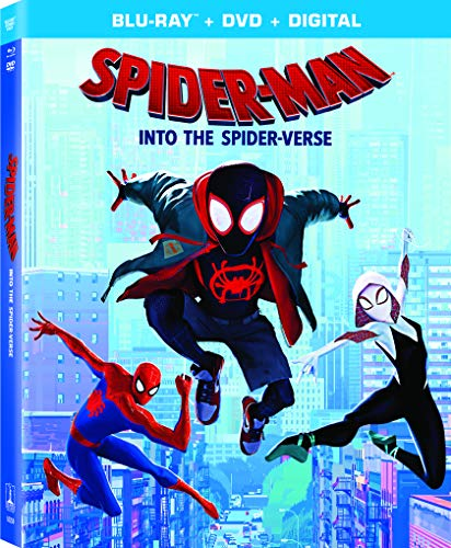 Spider Man Into The Spider Verse Spider Man Into The Spider Verse Blu Ray DVD Dc Pg