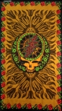 Tapestry Grateful Dead Rose 3d