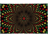 Tapestry Weed Vortex 3d