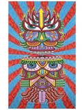 Tapestry Hungry Eyes 3d
