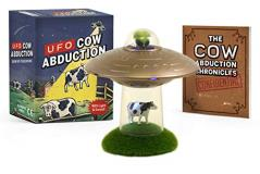 Running Press Mega Deluxe Kit Ufo Cow Abduction Beam Up Your Bovine (with Light And Sound!)