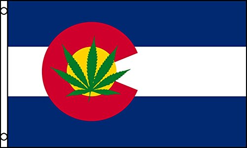 Flag Colorado Leaf