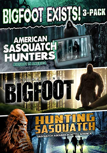 Bigfoot Exists 3 Pack DVD Nr