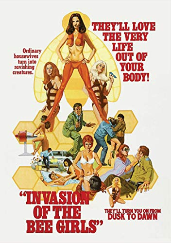Invasion Of The Bee Girls Smith Ford DVD Nr
