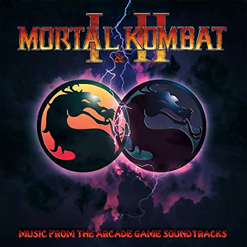 Mortal Kombat I & Ii Music From The Arcade Game Soundtracks Dan Forden Lp