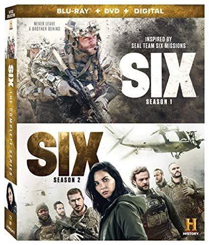 Six 1 & 2/Complete Series@Blu-Ray@NR