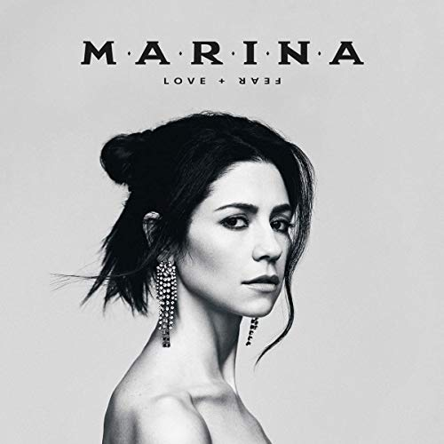 Marina Love + Fear 2lp Black + White Viny