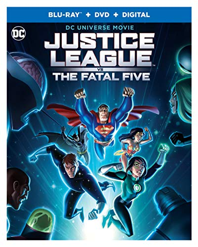 Justice League Vs. Fatal Five Justice League Vs. Fatal Five Blu Ray DVD Dc Pg13