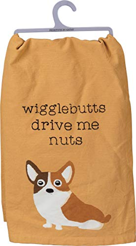 primitives-by-kathy-dish-towel-corgi-wigglebutts