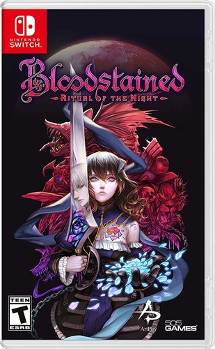 Nintendo Switch Bloodstained Ritual Of The Night