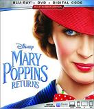Mary Poppins Returns Blunt Miranda Whishaw Blu Ray DVD Dc Pg