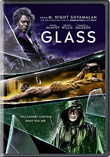 Glass Willis Jackson Mcavoy DVD Pg13