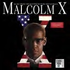 Malcolm X Soundtrack Translucent Red Lp Rsd Exclusive 2019 Ltd. To 1500