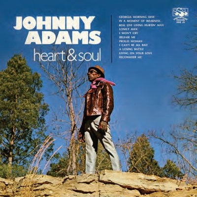 Johnny Adams Heart & Soul Blue Vinyl Rsd Exclusive 2019 Ltd. To 800