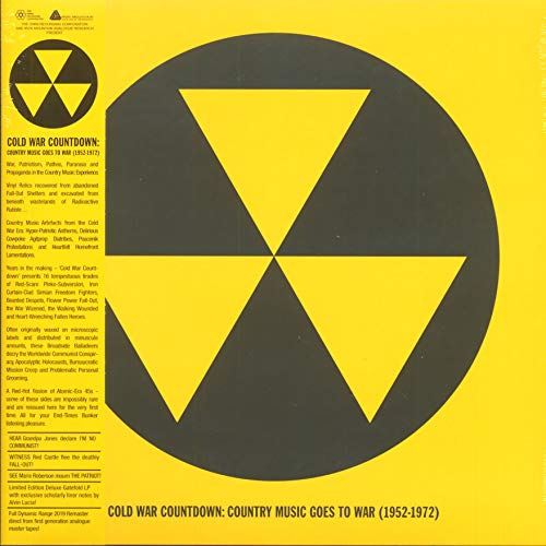Cold War Countdown Country Music Goes To War 1952 1972 (yellow & Black Vinyl) Rsd 2019 Limited To 500 Lp