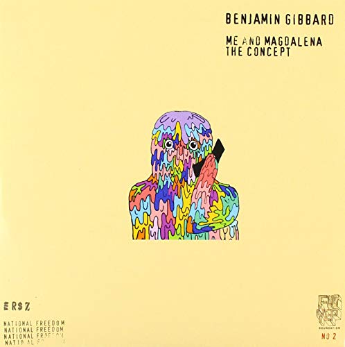 Benjamin Gibbard Me And Magdalena The Concept Number Black Vinyl Rsd 2019 Ltd. To 2000