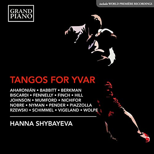 Aharonian Shybayeva Tangos For Yvar