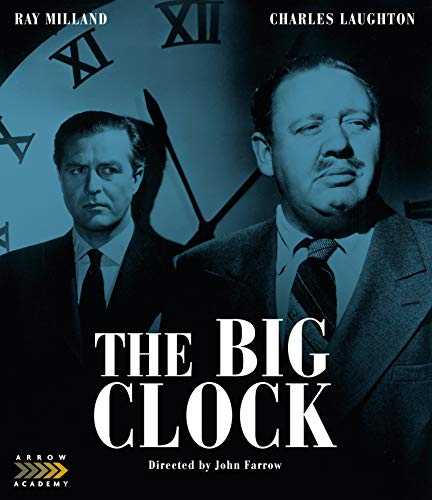 The Big Clock Milland Laughton Blu Ray Nr