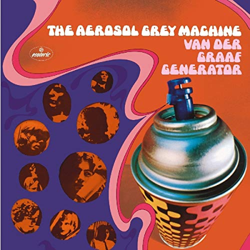 Van Der Graaf Generator Aerosol Grey Machine 50th Ann